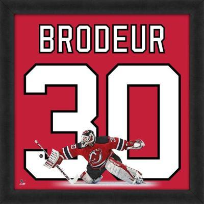 Martin Brodeur, Devils photographic representation of the player's jersey