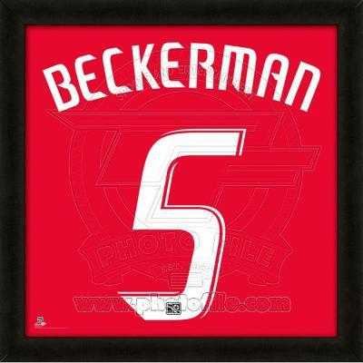 Kyle Beckerman, Real Salt Lake representation of the player's jersey