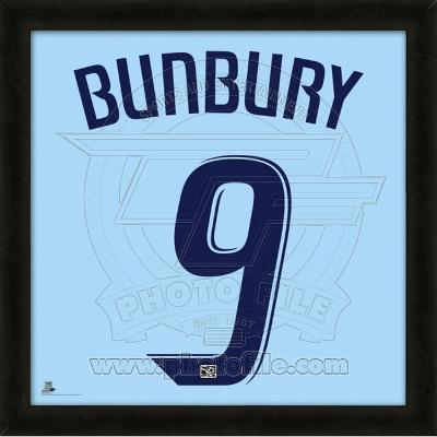 Teal Bunbury, Sporting Kansas City representation of the player's jersey