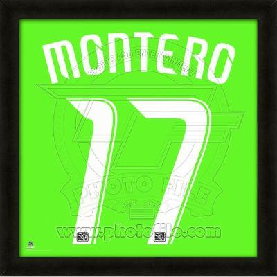 Fredy Montero, Sounders representation of the player's jersey