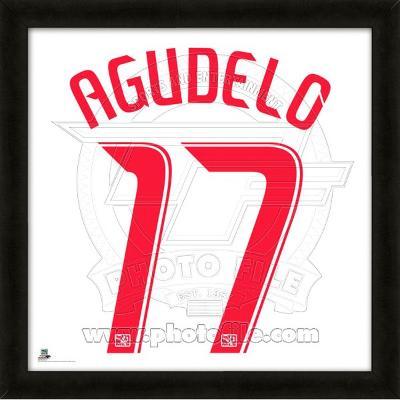 Juan Agudelo, Red Bulls  representation of the player's jersey