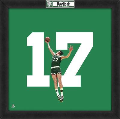 John Havlicek, Celtics  Representation of the player's jersey