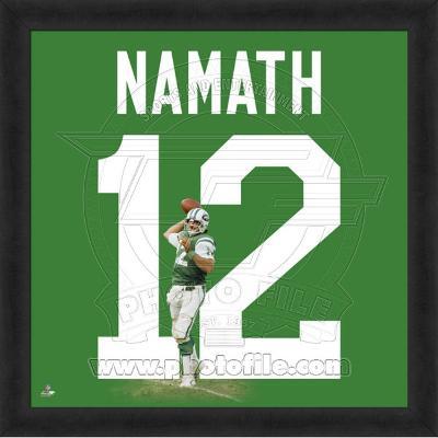 Joe Namath, Jets photographic representation of the player's jersey