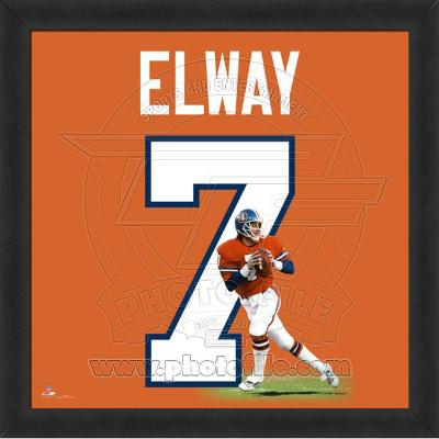 John Elway, Broncos photographic representation of the player's jersey