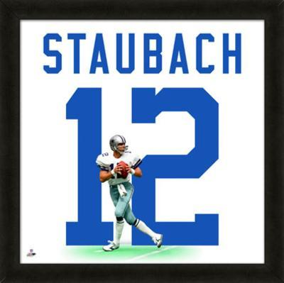 Roger Staubach, Cowboys photographic representation of the player's jersey