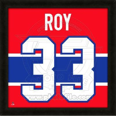 Patrick Roy, Canadiens photographic representation of the player's jersey