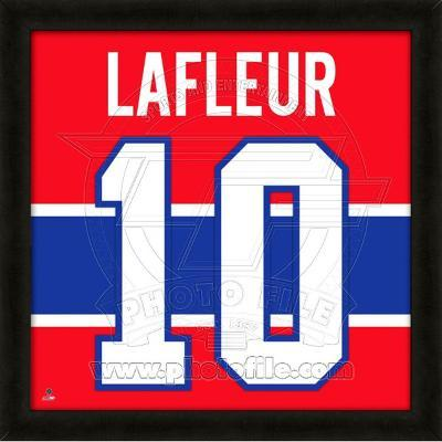 Guy Lafleur, Canadiens photographic representation of the player's jersey