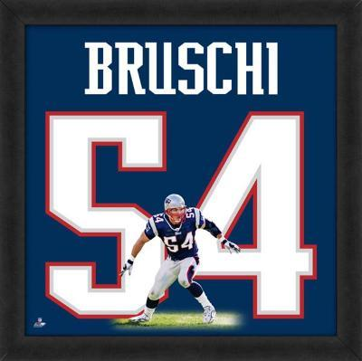 Tedy Bruschi, Patriots representation of the player's jersey