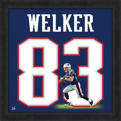 Wes Welker, Patriots representation of the player's jersey