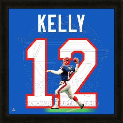 Jim Kelly, Bills representation of the player's jersey