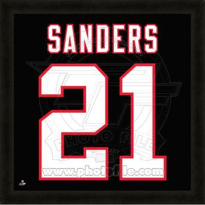 Deion Sanders, Falcons representation of the player's jersey