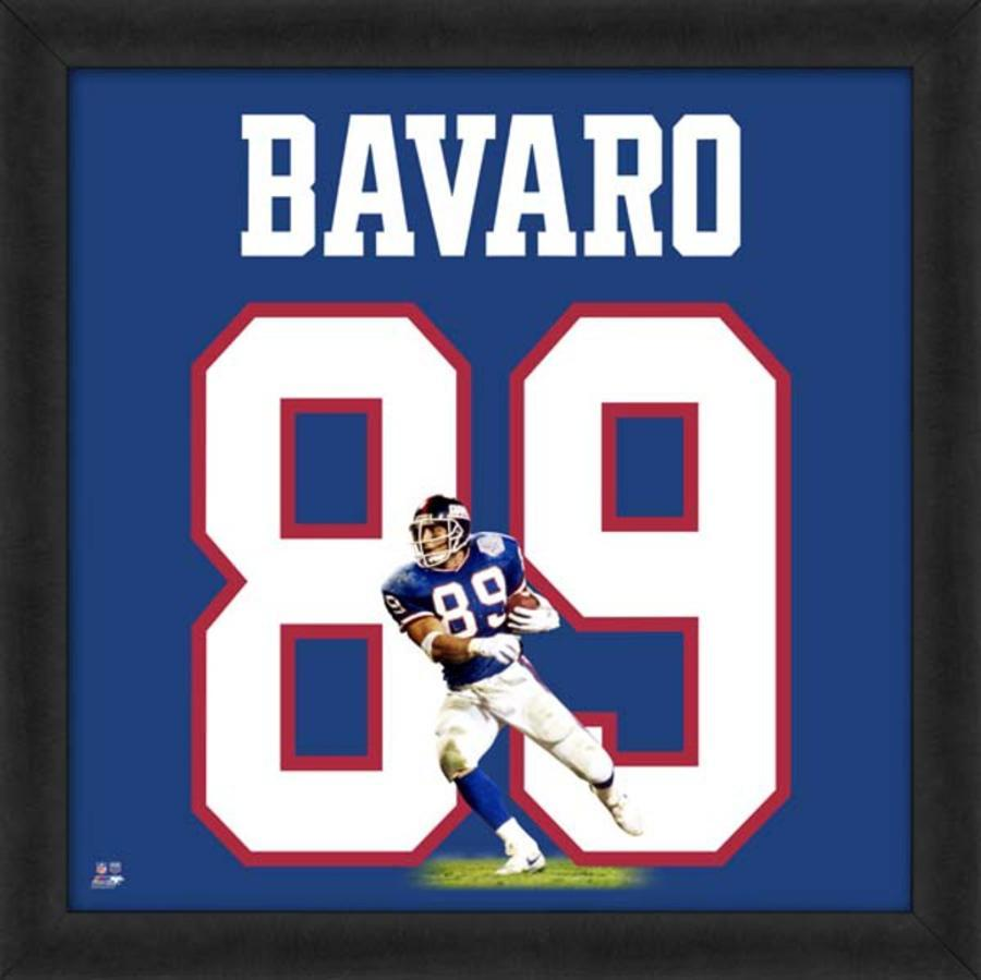 factory price 7acaf 27d26 Mark Bavaro, Giants representation of the player's jersey