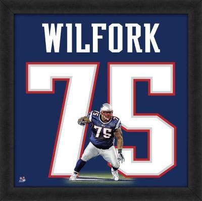 Vince Wilfork, Patriots representation of the player's jersey