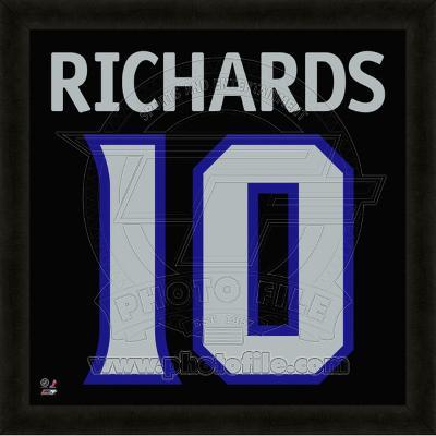 Mike Richards, Kings representation of the player's jersey