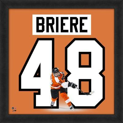 Daniel Briere, Flyers representation of the player's jersey