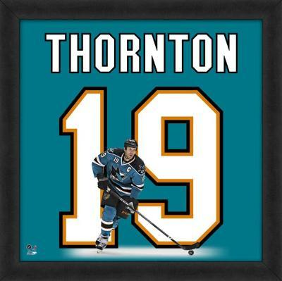 Joe Thornton, Sharks representation of the player's jersey