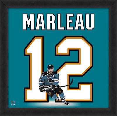 Patrick Marleau, Sharks representation of the player's jersey