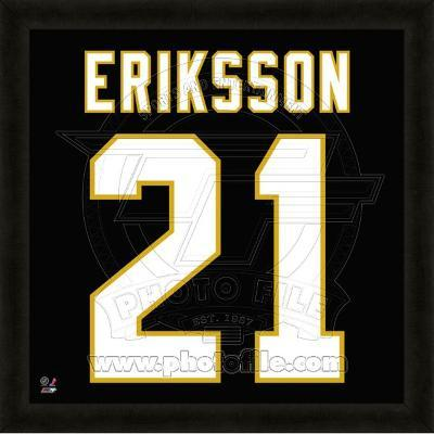 Loui Eriksson, Stars representation of the player's jersey