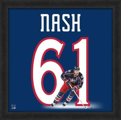 Rick Nash, Blue Jackets representation of the player's jersey