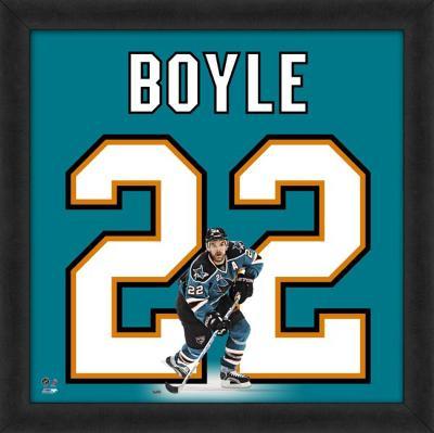 Dan Boyle, Sharks representation of the player's jersey