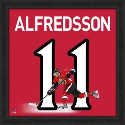 Daniel Alfredsson, Senators representation of the player's jersey