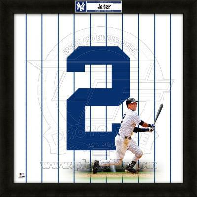 Derek Jeter, Yankees representation of the player's jersey