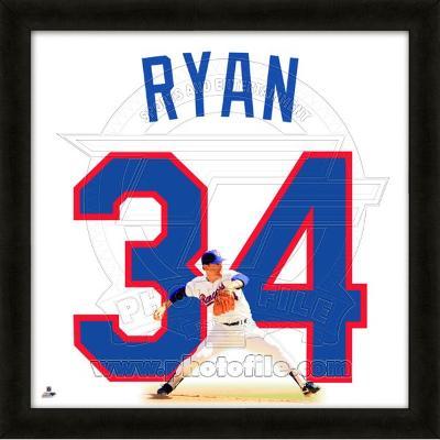 Nolan Ryan, Rangers representation of the player's jersey