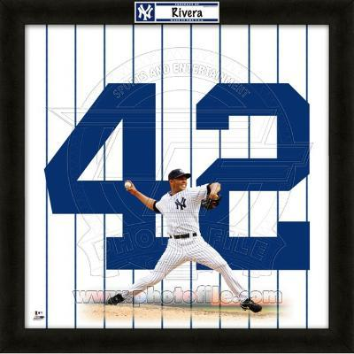 Mariano Rivera, Yankees representation of the player's jersey
