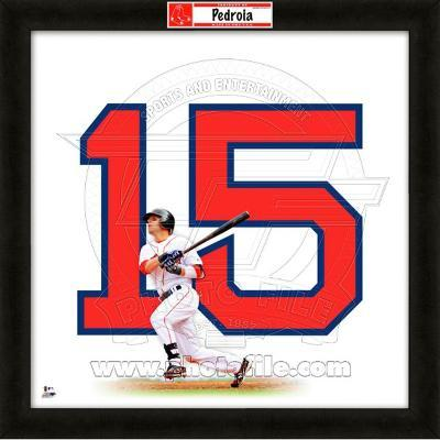 Dustin Pedroia, Red Sox representation of the player's jersey