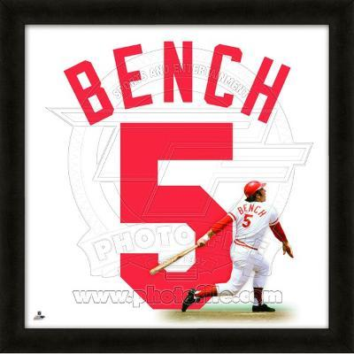 Johnny Bench, Reds representation of the player's jersey