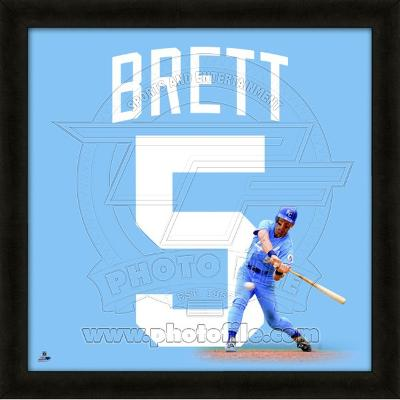 George Brett, Royals representation of the player's jersey
