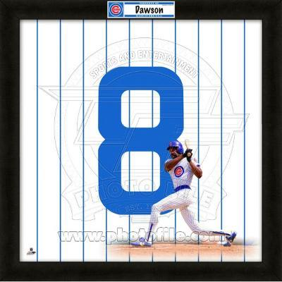 Andre Dawson, Cubs representation of the player's jersey