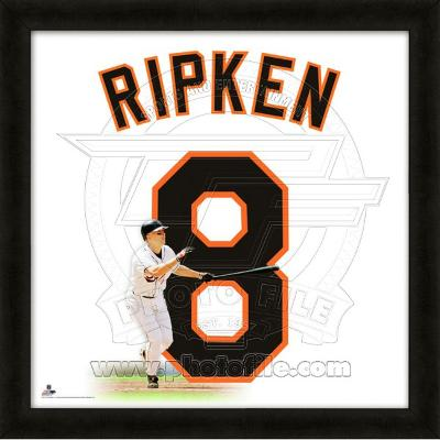 Cal Ripken Jr., Orioles representation of the player's jersey
