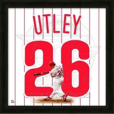 Chase Utley, Phillies representation of the player's jersey