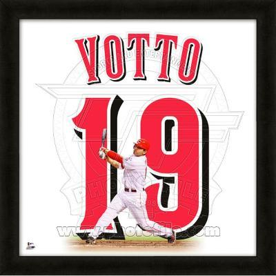 Joey Votto, Reds representation of the player's jersey