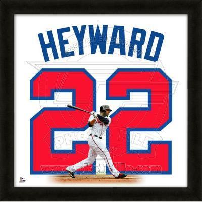 Jason Heyward, Braves representation of the player's jersey