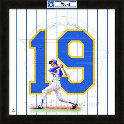 Robin Yount, Brewers representation of the player's jersey