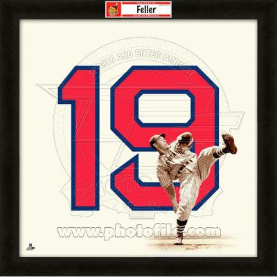 Bob Feller, Indians representation of the player's jersey