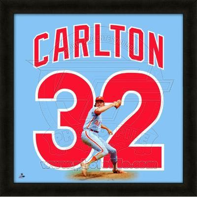 Steve Carlton, Phillies representation of the player's jersey