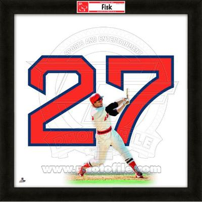 Carlton Fisk, Red Sox representation of the player's jersey