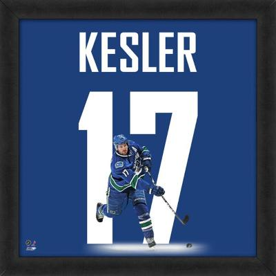 Ryan Kesler, Canucks representation of the player's jersey