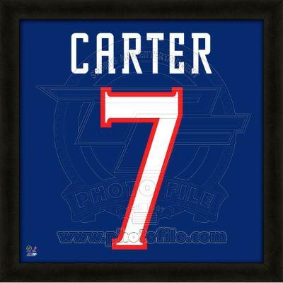 Jeff Carter, Blue Jackets representation of the player's jersey