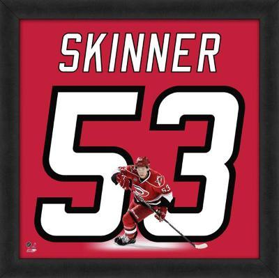 Jeff Skinner, Hurricanes representation of the player's jersey