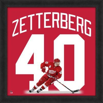 Henrik Zetterberg, Red Wings photographic representation of the player's jersey