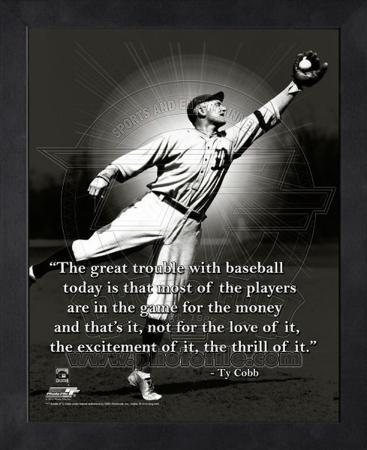 Ty Cobb, Detroit Tigers, ProQuote