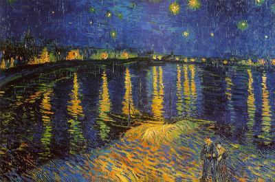 Starry Night Over the Rhone, c. 1888