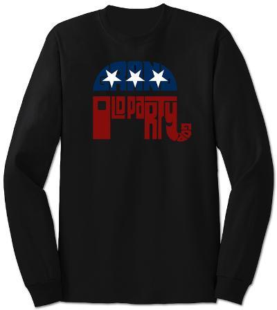 Long Sleeve: GOP Logo - Grand Old Party