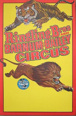 Ringling Bros (Two Lions)