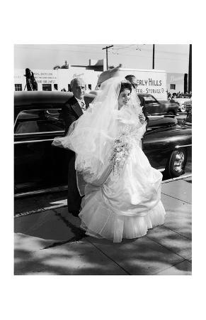 Elizabeth Taylor in Wedding Dress