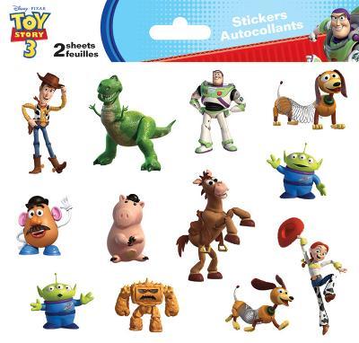 Toy Story 3 Mini Foldover Stickers
